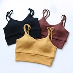 【DOMENICO+SAVIO】 RIB BRA TOP