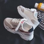 【shoes】キャンバススポーツカジュアル厚底スニーカー15564935