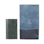 ブライドル -カードケース- ブルー&グリーン