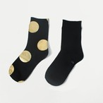 METAL SOX (4.5DOT) BLACK X GOLD