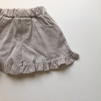 【ご予約】frill short pants