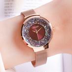 Julius AF-1111 Reflect(Red) レディース腕時計