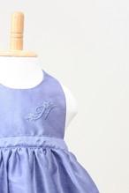 出産祝いはもちろん!ランチ会で注目のお姫様に♥ベビーエプロンパープル