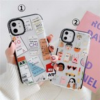 【オーダー商品】Ticket girl ihone case