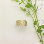 Eucalyptus レモンユーカリ フリーリング(brass)/ YUKIKO MATSUI