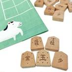 将棋盤駒セット【入門駒ver】(風呂敷将棋盤、入門駒)