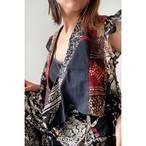 【RehersalL】ethnic frill blouse(dark F) /【リハーズオール】エスニックフリルブラウス(ダークF)