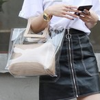 Clear Hand Bag