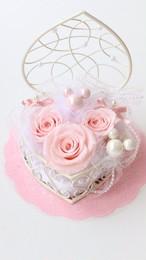【受注制作】薄ピンクのミッキー風リングピロー
