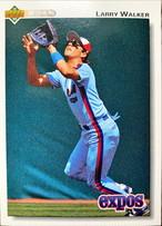MLBカード 92UPPERDECK Larry Walker #249 EXPOS