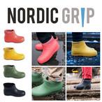 NORDIC GRIP(ノルディックグリップ) Wet Winter City 滑らない ブーツ 滑り止め 凍結 路面 雪対策 アイススパイク 氷 長靴 スノーブーツ 雪靴