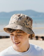 【9/2(wed)21:00販売開始】ThreeArrows 刺繍 Bucket Hat (camo)