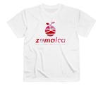 【Pink kamo】White T-shirt