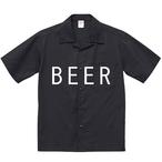 BEER 開襟シャツ ブラック