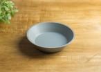 SHIROUMA 浅鉢 18cm 灰色 深皿 ボウル グラタン皿/長谷川 哲也