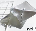 四方系水晶 純銀パーツ フレンジ デザイン ブレスレット パワーストーン オシャレ