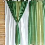 グラーデカーテン 100x180cm グリーン