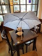 高性能で軽量のパンダ折り畳み傘(雨晴兼用)