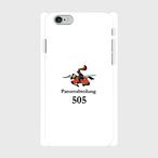 ドイツ軍第505重戦車大隊(ホワイト) iPhoneケース