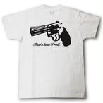 デザインTシャツ kick ass #16 白T