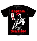 CAPTAIN SENSIBLE Tシャツ