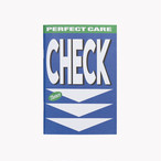 「CHECK」コンセプトノート(PERFECT CARE)