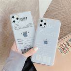 【オーダー商品】 Simple barcode iphone case
