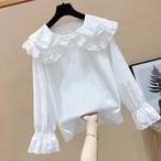 【tops】可愛いスピーカースリーブフェアリー大人しいシャツ