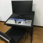 【おうちゲーセン】コントロールパネル風筐体&デスクセット