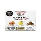 【柚子果汁配合】ハニードロップレット ハニー&柚子withプロポリス(のど飴) x1箱(6粒入り)