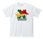 No.0068 クリスマスコーギー Tシャツ