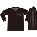 Freedom Sound Long Sleeve(Black/Gray)