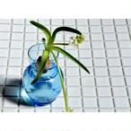 【 BULB VASE - blue - 】フラワーベース / バルブベース / 水栽培 / 多肉植物 / 球根 /  花瓶 / 一輪挿し / vintage / japan