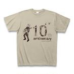 【オンラインショップ限定】Tシャツ-10th ANNIVERSARY-(シルバーグレー)