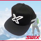 Swix スウィックス PRキャップ ブラック 帽子 ベースボールキャップ PR17