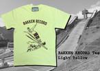 Bakkenn Record Tee / Light yellow