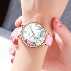 Kimio AF-Z1003 Lupus(White×Pink) レディース腕時計