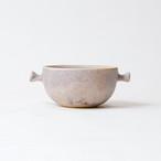 [蓮尾 寧子]粉灰ちょんちょんてスープカップ
