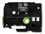 エッチングマシン用ステンシルテープ 24mm P-TOUCH TZe-TAPE ブラザー 国内未発売