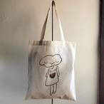 【ぼさつのおみせ】トートバッグ「すいか」