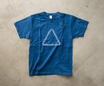 LITMUS 本藍染T-shirt(浅葱)/designd by KIZM
