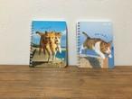 飛び猫ノート(a6サイズ)2冊セット
