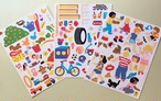 Sale!  1993 Large Sticker Set