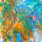 絵画 インテリア アートパネル 雑貨 壁掛け 置物 おしゃれ 抽象画 現代アート ロココロ 画家 : tamajapan 作品 : t-17