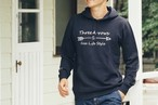 ThreeArrowsロゴ パーカー(navy)