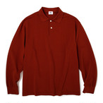 "Just Right ""XB Polo L/S"" Brick"