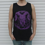 Inversion of Christ Tank Top Purple × Black