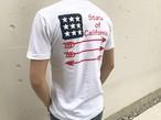 #California Tシャツ(white)