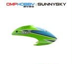 ◆ M2 EX Pキャノピー カラー / OSHM2101グリーン 、OSHM2102イエロー、 OSHM2103オレンジ(ネオヘリでM2購入者のみ購入可)