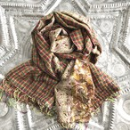 お客様ご予約分 Kantha Silk Stole (Reversible Type)